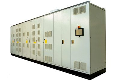 NH - Power range: air cooling 1500/3700 KVA. water cooling 2900/14400 KVA Voltage: up to 4160/6000/ 6600V Output Frequency: 5-140 Hz